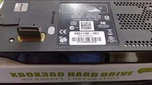 Disco Duro 120 Gb Xbox 360 Fat Original De Microsoft