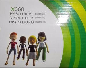 Disco Duro 120 Gb Xbox 360 Slim Y Slim E Nuevo Original