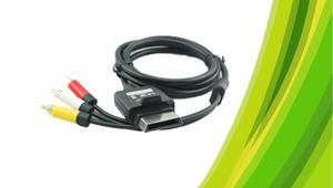 Kit De 10 Cables Video Av Xbox 360 ''s' 720p Hd Original