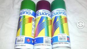 Lata de aerosol 3 colores
