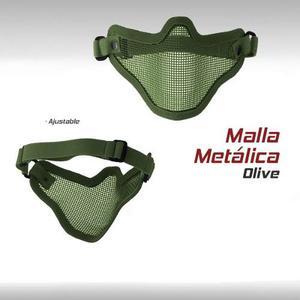 Mascara Malla Metalica Militar Tactica Paintball Airsoft