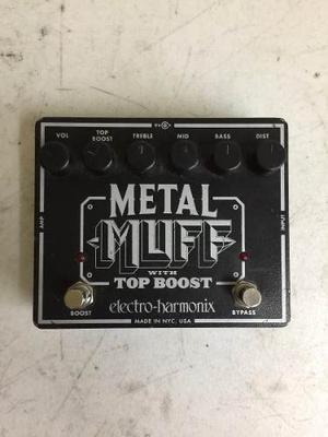 Metal Muff E.h (boss, Mxr, Electro Harmonix, Dod, Digitech)