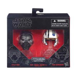 Star Wars Kylo Ren Y Poe Dameron Series Titanium