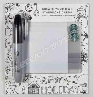 Tarjeta Starbucks Estados Unidos Colección Blank Set 3