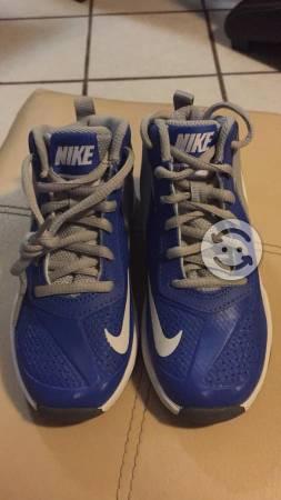 Tenis Nike Azules Nuevos para Niño Talla 17