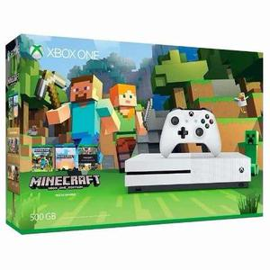 Xbox One S 4k Con Minecraft  Gb Envio Gratis