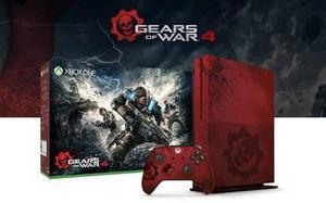 Xbox One Slim Versión Gears Of War 4 - 2tb
