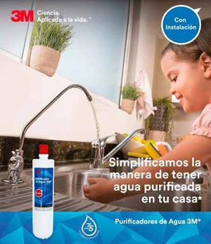 3m Purificador De Agua Modelo Family Con Instalacion