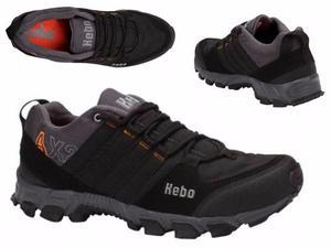 Calzado Hiker Kebo 690 Id  Negro