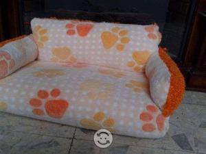 Cama tipo sofá cama para perro