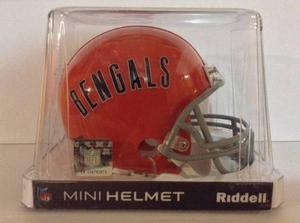 Casco Nfl Mini Helmets Riddell Throwback Cincinnati Bengals