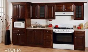 Cocina Integral Virginia 2.40m No Incluye Mueble Para Micro
