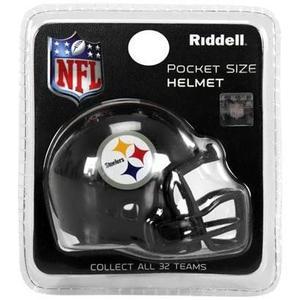 Envio Incluido! Nfl Pocket Helmet Riddell Pittsburgh Steeler