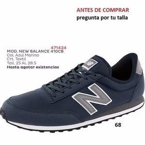 Tenis New Balance Para Caballero Color Azul Marino I