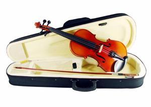 Violin 3/4 De Alta Calidad Con Estuche Y Arco Audiomex