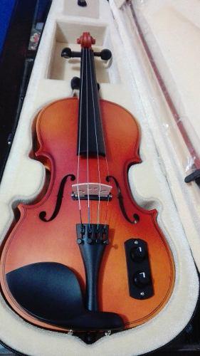 Violin Electroacustico Divarius Con Accesorios, Envio Gratis