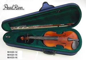 Violin Pearl River 3/4 Seminuevo Tarjeta De Autenticidad