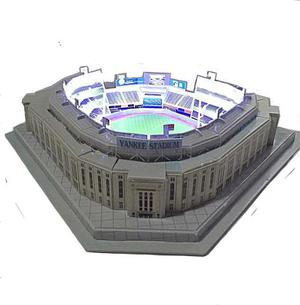 Yankees Rompecabezas 3d Y Kit De Luz Led Y Caja De Acetato
