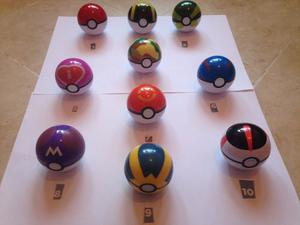 1 Pokebola Pokeball 7cm + Pokemon Azar Pokebolas Cosplay