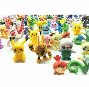 24 Pokemon Envio Gratis Figuras Al Azar Con Pikachu Juguetes