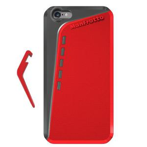 Accesorio Red Case For Iphone 6 Plus + Kickstand Manfrotto