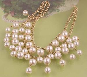 Bisuteria Accesorios Para La Mujer Collar Perlas