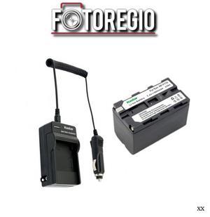 Cargador + Bateria Np-f770 Kastar Para Videocamaras Sony