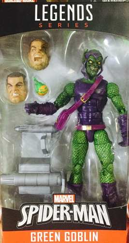 Duende Verde Green Goblin Marvel Legends Baf Sandman