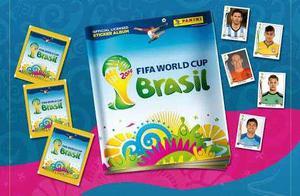 Estampas Album Panini Mundial Brasil