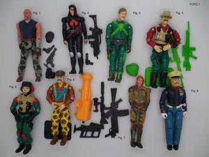 G.i. Joe Figuras De Los 80s Y 90s