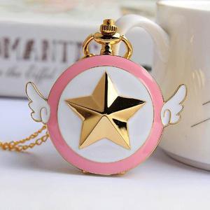 Genial Reloj De Bolsillo Sakura Card Captor Pocket Watch