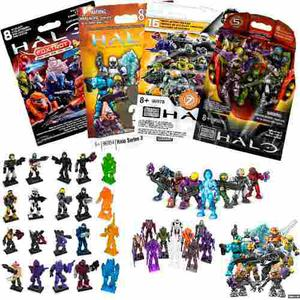Halo 20 Sobres Figuras Armables Megabloks Paquete Gratis Dhl