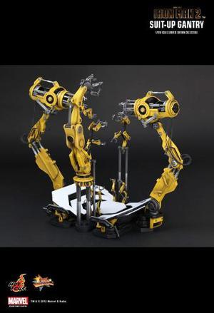 Hot Toys Iron Man Suit Up Gantry Iron Man 2