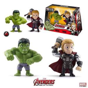 Hulk Y Thor Avengers Age Of Ultron Metal Diecast M66