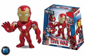 Ironman 6 Pulgadas Marvel Civil War Jada Metal Diecast M55