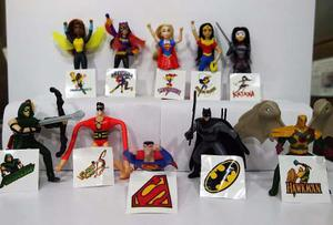 Mcdonald´s Liga De La Justicia & Super Hero Girls Dc Comics