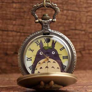 Reloj De Bolsillo Mi Vecino Totoro Pocket Watch Envio Gratis