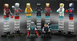 Set A1 De Iron Man Minifiguras Compatible Con Lego