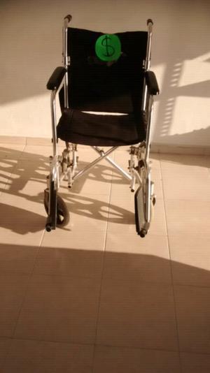 Vendo silla de ruedas poco uso