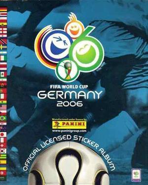 Álbum De Estampas Panini Alemania . Faltan 5 Estampas
