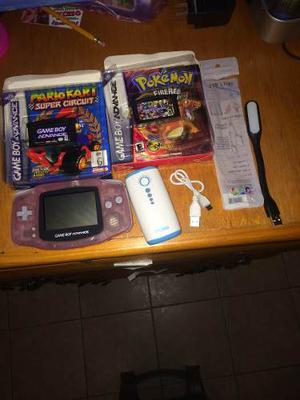 Game Boy Advance Rosa Pokémon Mario Kart Pila Portátil Y