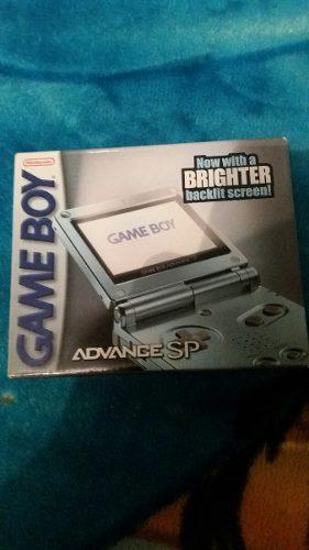 Game Boy Advance Sp Como Nuevo Con Caja