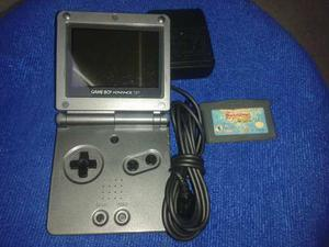 Gameboy Advance Negro Doble Luz