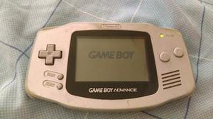 Gameboy Advance (gris) Sin Tapa Y 1 Juego (monster Inc.)