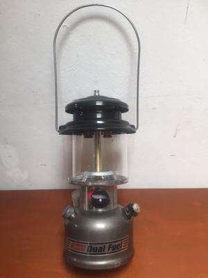 Lampara coleman de cartucho de gas butano con posot class for Tanque de gas butano
