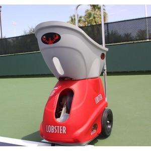 Maquina lanzadora de pelotas de tenis