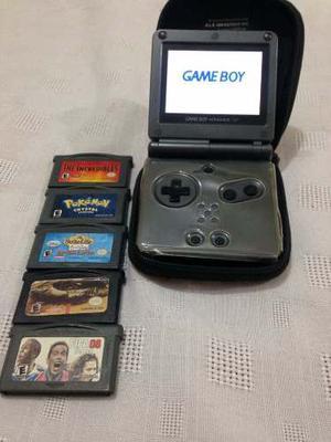 Nintendo Gameboy Advance Sp 5 Juegos