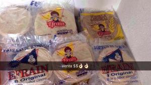 Paquete Tortilla De Harina Hechas En Sinaloa, Sabrosisimas