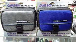 Petaca Game Boy Advance Sp Color Azul Y Gris