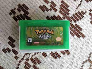 Pokemon Leaf Green Version Gba Eng